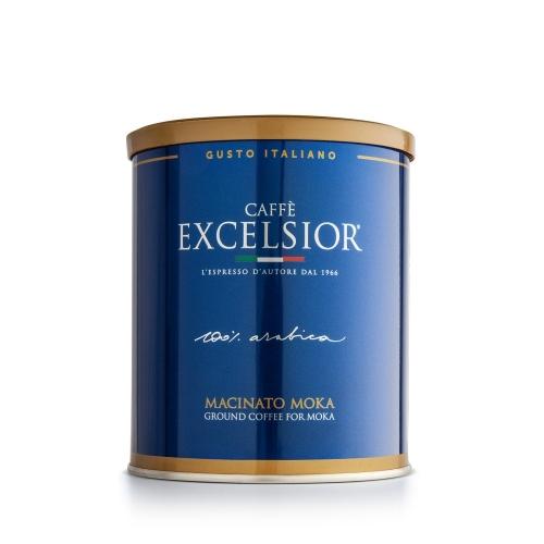 Caffè macinato moka lattina Excelsior
